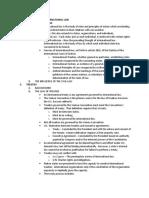 TKO International Law Outline