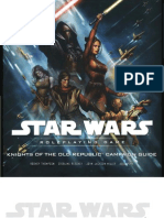 SAGA EDITION - Knights of the Old Republic Campaign Guide