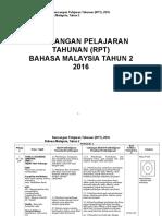 RPT BM TAHUN 2 2016