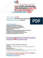 2016 New 70-494 Exam Questions PDF 89q Offered