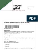 ¿PDF Para Imprenta?