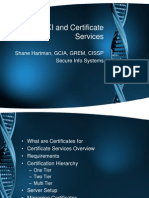 Microsoft PKI and Certificate Services