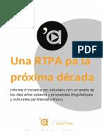 Informe d'Iniciativa pol Asturianu pal Mandatu Marcu de la RTPA