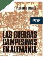 Engels, Friedrich - La Guerras Campesinas en Alemania
