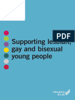 Supporting Lesbian, Gay and Bisexual Young People