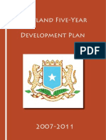 Puntland Five-Year Development Plan - 2007-2011