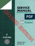1998 Chevrolet Camaro & Pontiac Firebird Service Manual Volume 2