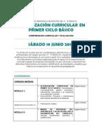 Actualización Curricular
