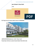 DLF Kings Court CALL 9958.959.555. Greater Kailash II New Delhi-www.sarthakestates.com
