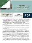 Feedback TEMA 1  MOOC Lisboa e o MarEdiçao3