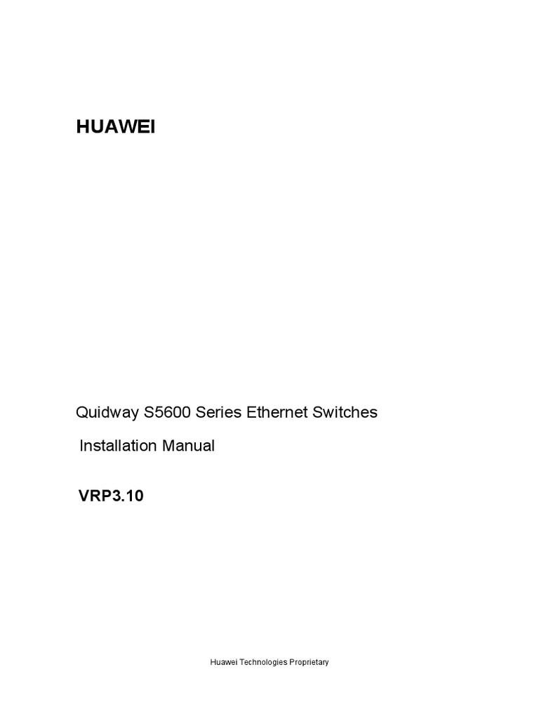 00 1cover quidway s5600 network switch booting rh es scribd com  Troubleshooting Flow Chart Diagram