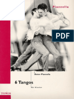 Astor Piazzolla - SHEET - 6 Tangos - Meditango, Undertango, Violentango, Amelitango, Novitango, Tristango