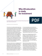Why US Education is Ready for Investment