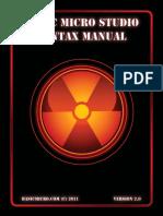 Basic Micro Manual