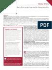 Acute Bacterial Rhinosinusitis Canadian Guideline 2014