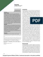 Aminoglycoside ototoxicity