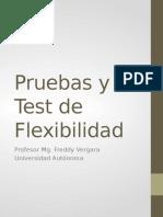 05 Pruebas y Test de Flexibilidad