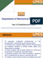 Presentation of Mechanical Department Revised by Jp Gupta
