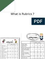 What is Rubrics