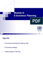 Ebusiness Development Plan