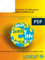 Health and Family Life