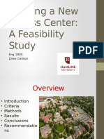 Fitness Center Feasibility