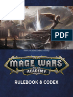 Mage Wars Academy Rulebook