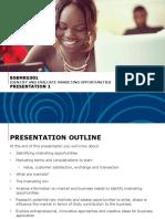 BSBMKG501 Presentation 1