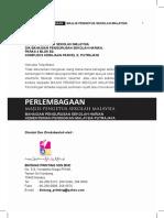 Buku Perlembagaan MPSM 2016