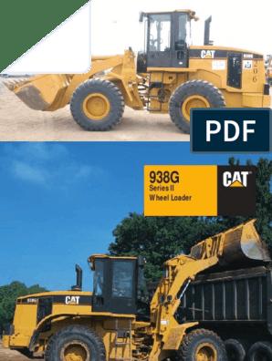 CAT 938G Loader | Transmission (Mechanics) | Manual Transmission