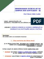 Aula - Objeto Das Ciencias Sociais(1)