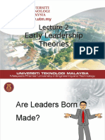early theories of leadership .ppt