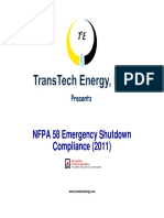 Nfpa 58 2011 Compliance Package