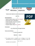 Trabajo-04 - Balance de Materia en Sistemas Con Recirculación