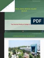 Jawaharlal Nehru Medical College Belgaum Admission Fees Seats Exams