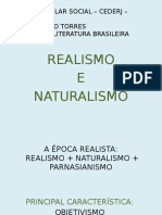 Ppt Naturalismo e Realismo