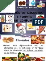 Seleccion de Alimentos y Formas de Consumo