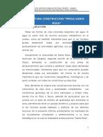 Informe Tecnico - Presa Santa Rosa
