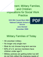 Effects of Deployment on Military Families and Children