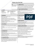 Polycolor White Msds