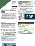April 5, 2009 Bulletin