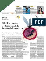 El Zika, Nueva Enfermedad de Transmisión Sexual