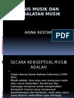 Jenis Musik Dan Peralatan Musik