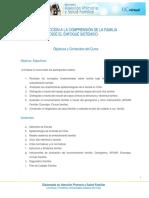 M2 T1 Objetivos y Contenidos Curso Familia