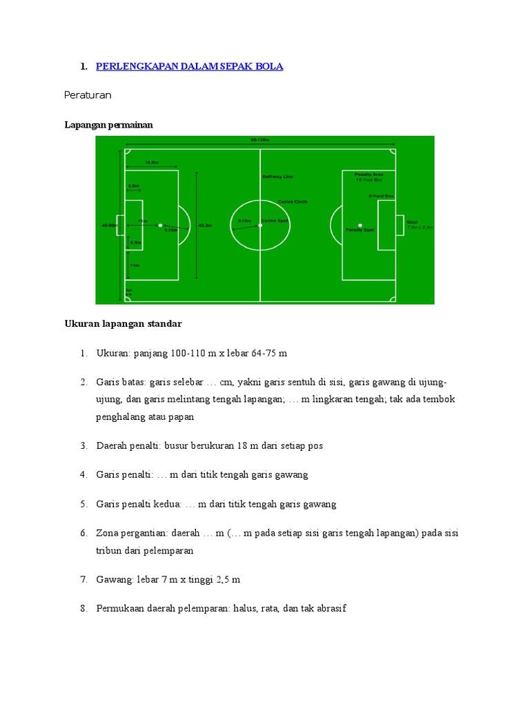 Perlengkapan Dalam Sepak Bola