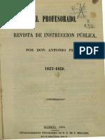 Pirala, Antonio - El Profesorado Revista de Instruccion Publica--0