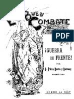 ¡Batalla de Frente! Por d. Fèlix Sardà y Salvany