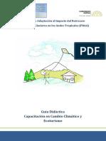 Guía Cambio Climático y Ecoturismo