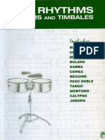 Alfred Latin Rhythms for Drums and Timbales - Ted Reed