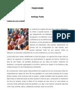 ALGUNAS TRADICIONES DE LA ZONA DE LOS TUXTLAS